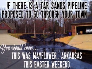 Tarsands pipeline